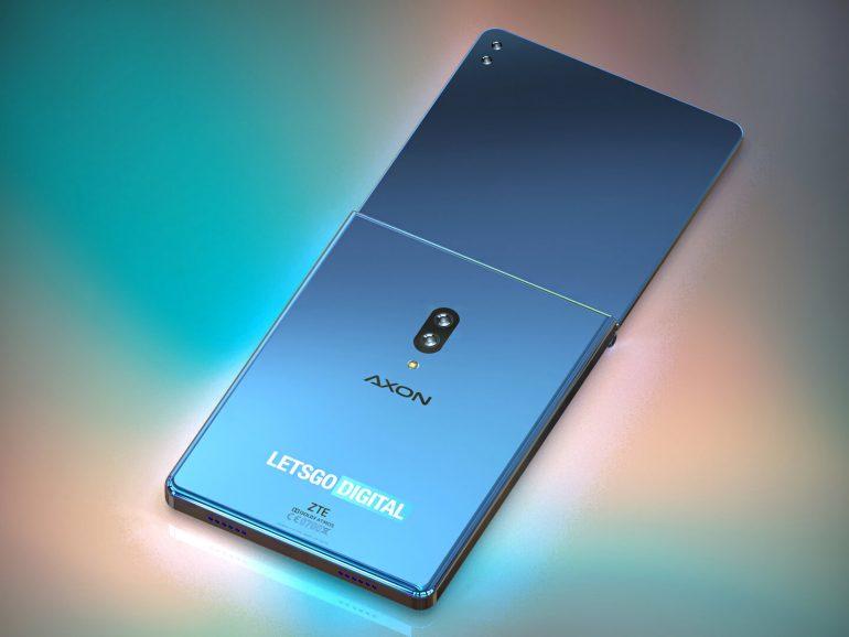 Складной смартфон ZTE показали на качественных рендерах