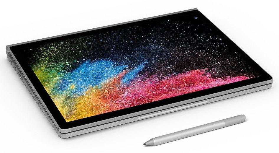 Microsoft обновляет Surface Book 2 новыми процессорами