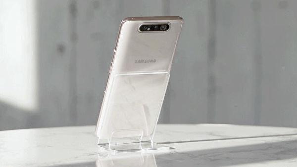 Представлен смартфон Samsung Galaxy A80 с поворотной камерой