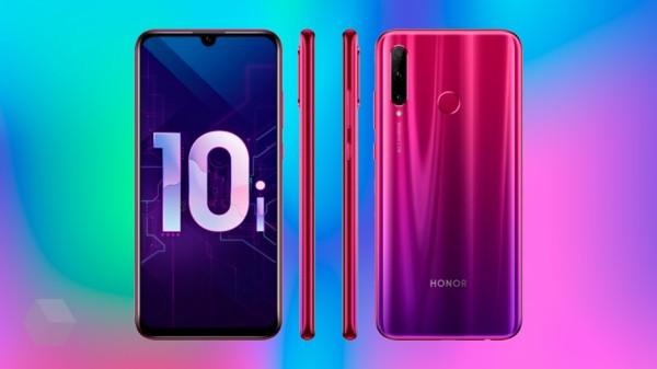 Новый смартфон Honor 10i в Китае будет предлагаться с 6 ГБ ОЗУ
