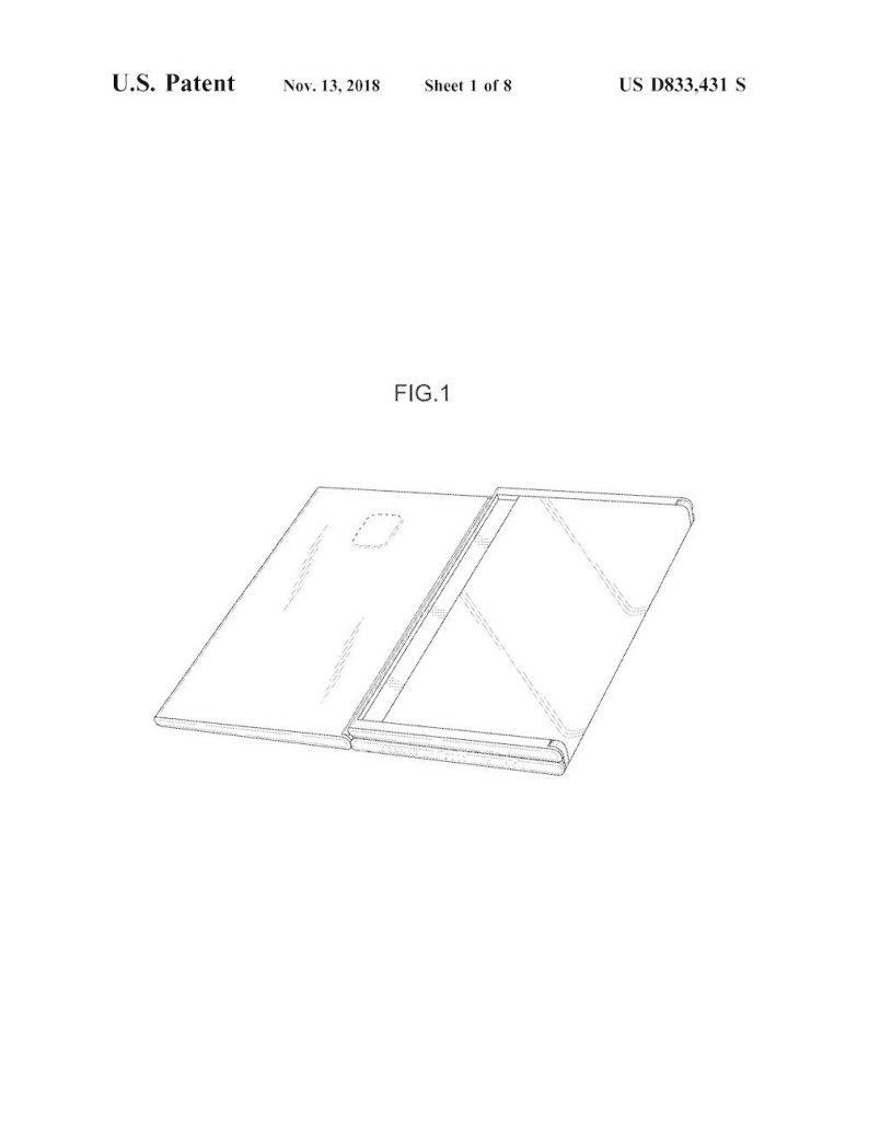 Samsung разрабатывает 8- и 13-дюймовые версии гибкого Galaxy Fold
