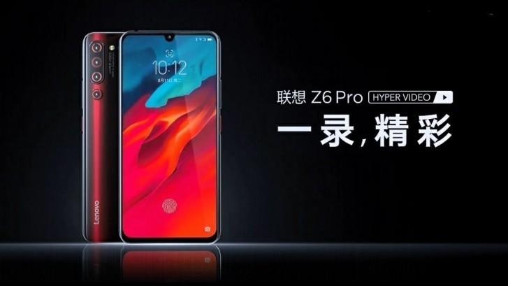 Официально представлены полные характеристики смартфона Lenovo Z6 Pro