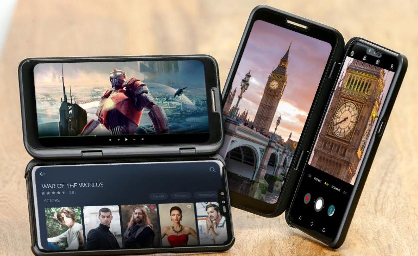 Названа дата старта продаж и стоимость 5G-смартфона LG V50 ThinQ