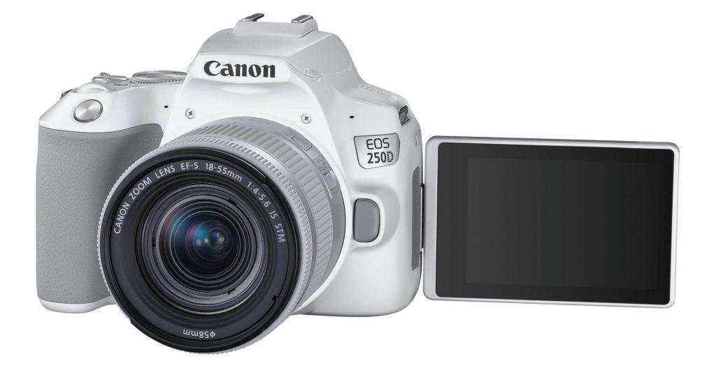 Canon представила новую недорогую зеркальную камеру Canon EOS 250D