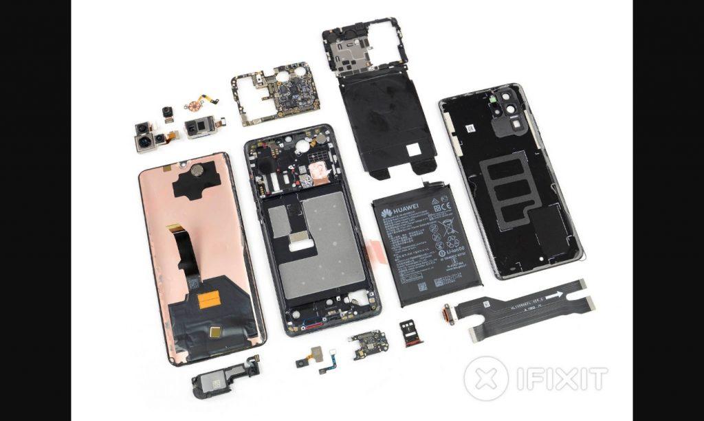 Смартфон Huawei P30 Pro оказался сложным и дорогим в ремонте