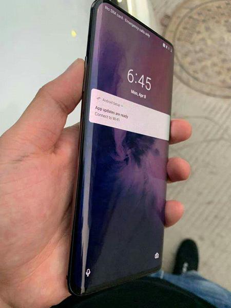 Первые фото смартфона OnePlus 7 Pro распространили в Сети