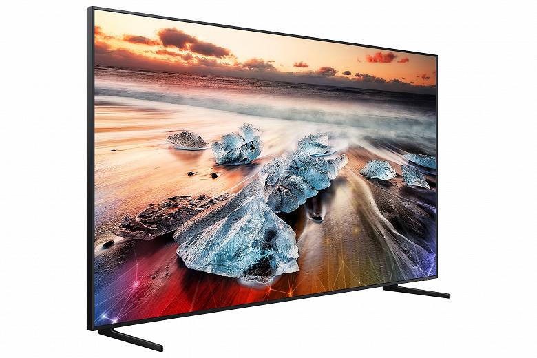 В России телевизор Samsung QLED 8K за 6 млн рублей появится 22 апреля