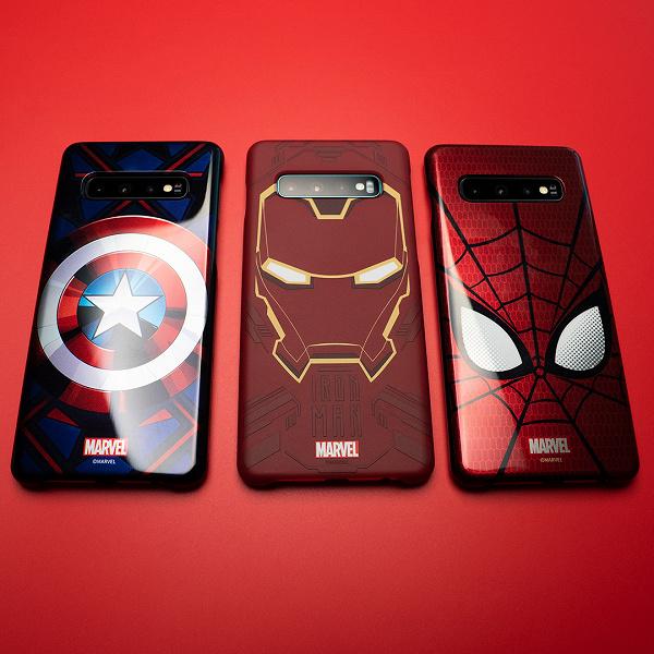 Samsung для Galaxy A и Galaxy S10 выпустила серию чехлов Marvel