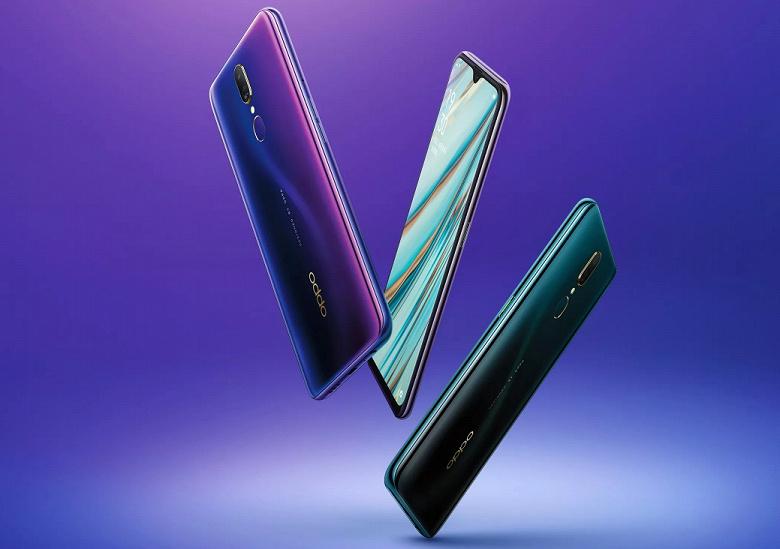Oppo представила новый 6,53-дюймовый смартфон Oppo A9