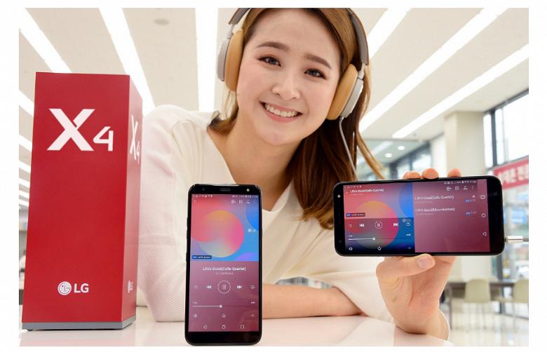 LG представила в Корее новое поколение смартфона LG X4
