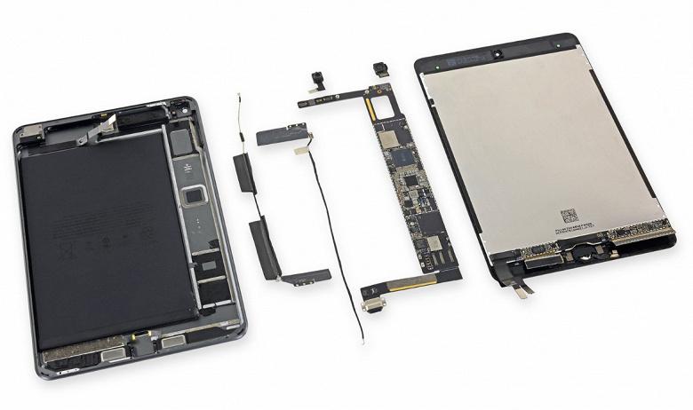 Новый iPad Mini также оказался неремонтопригодным