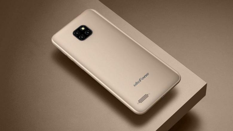 Представлен бюджетный смартфон Ulefone Note 7 с тройной камерой