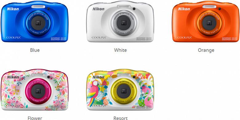 Новую фотокамеру Nikon Coolpix W150 защитили от воды, пыли и падений