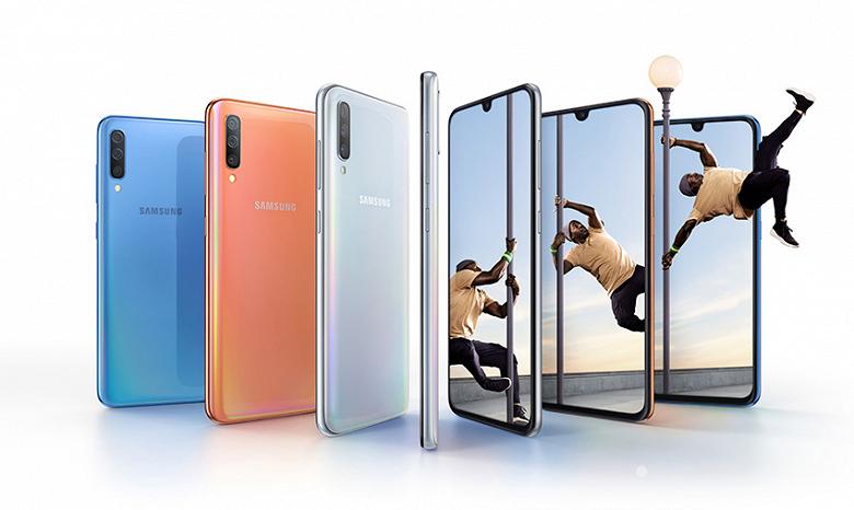 Смартфон Samsung Galaxy A70 представлен официально