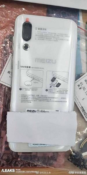 Meizu 16s показали на новых живых фото до анонса