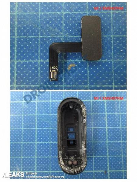 Фитнес-браслет Xiaomi Mi Band 4 показали на первых фотографиях