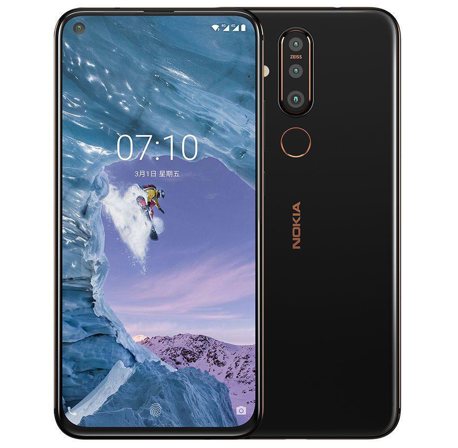 Представлен смартфон Nokia X71 с дырявым экраном