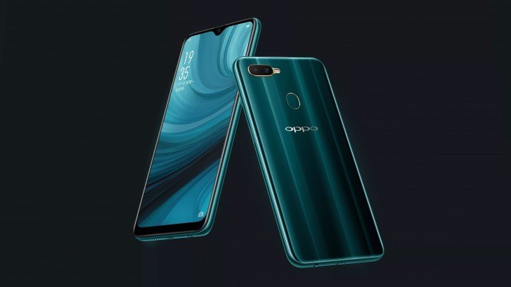 Oppo представила улучшенную версию смартфона Oppo A5s