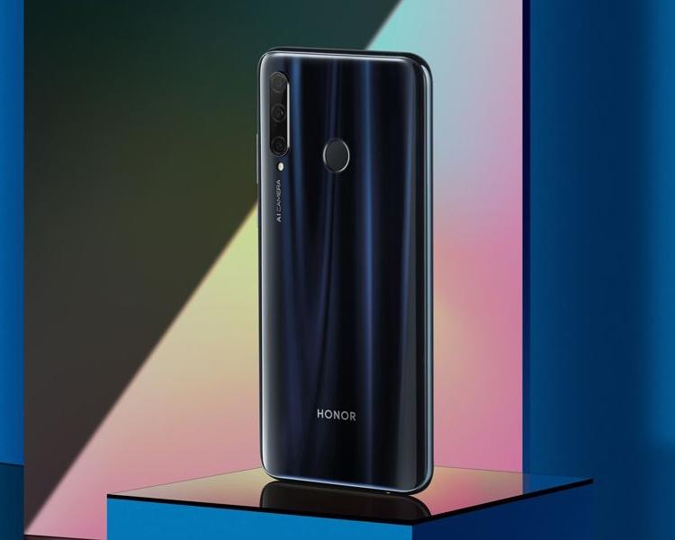 В Китае представили недорогой смартфон Honor 20i