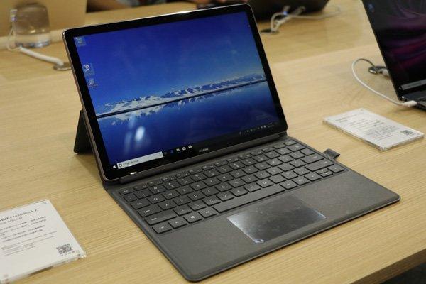 Huawei представила ноутбук с Snapdragon 850 и ОС Windows 10