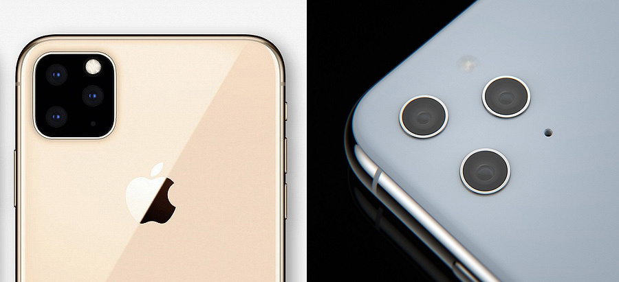 Независимый дизайнер показал врезанные камеры iPhone XI