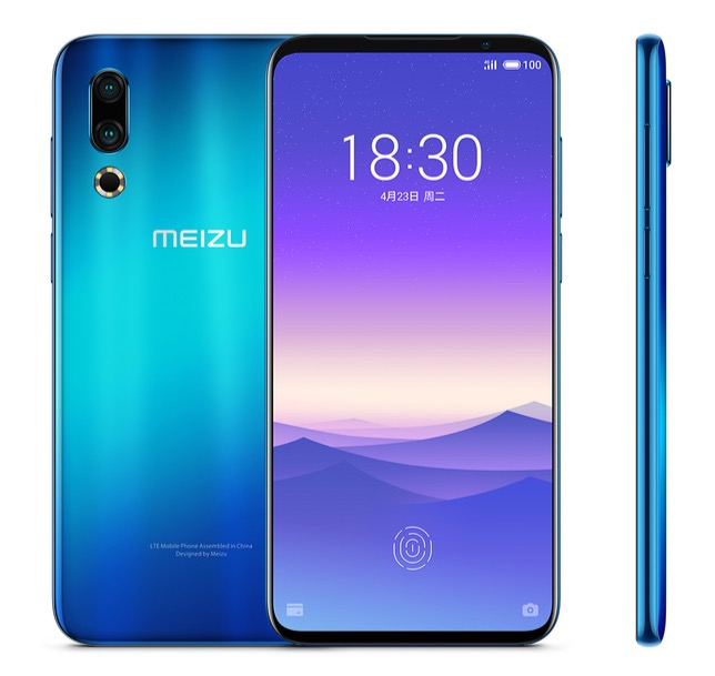 Meizu представила новый флагманский смартфон Meizu 16s