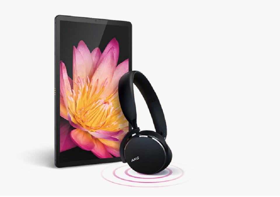 Samsung при покупке планшета Samsung Galaxy Tab S5e дарит наушники AKG