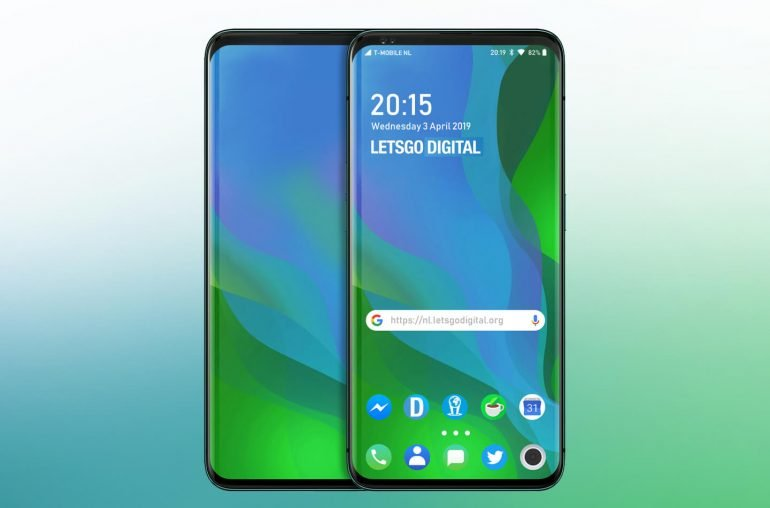 OPPO запатентовала смартфон с выдвижным дисплеем вместо камеры