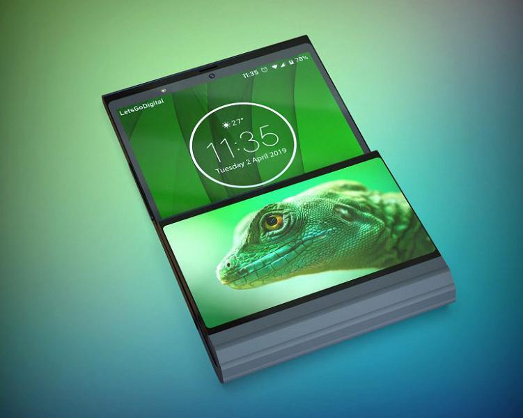 Складной смартфон от Lenovo сгибается не посередине