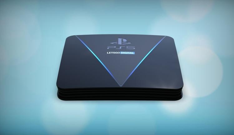 LetsGoDigital распространил рендеры консоли Sony PlayStation 5
