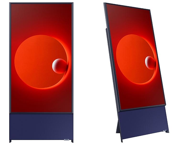 Представлен телевизор Samsung Sero с вертикальным экраном