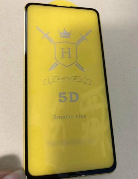 Инсайдер показал защитное стекло для смартфона Redmi K20