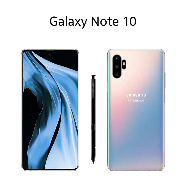 Samsung Galaxy Note10 может оказаться похож на Huawei P30 Pro
