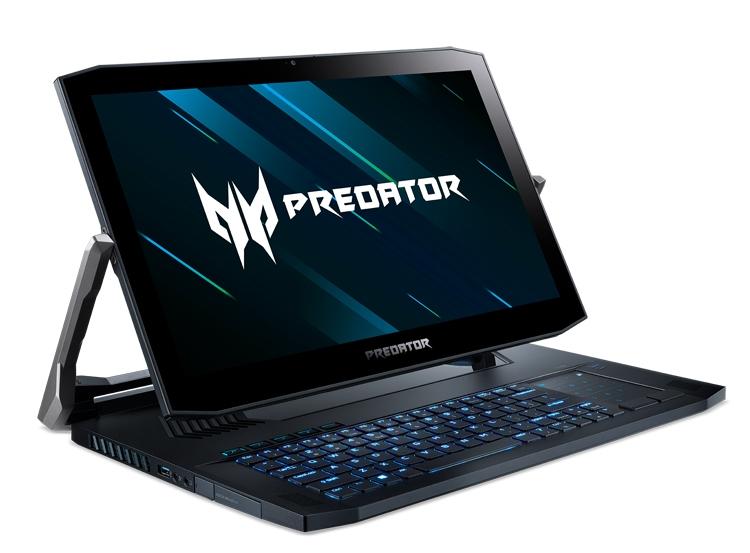 В России стартовали продажи нового игрового ноутбука Acer Predator Triton 900