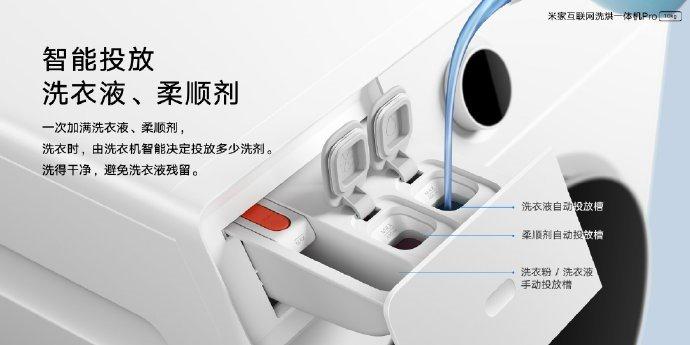 Xiaomi представила новую стиральную машину с функцией сушки белья