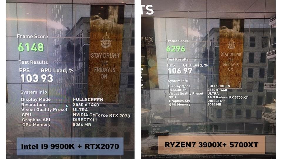 Процессор AMD Ryzen 9 3900X обошёл Core i9-9900K в World War Z