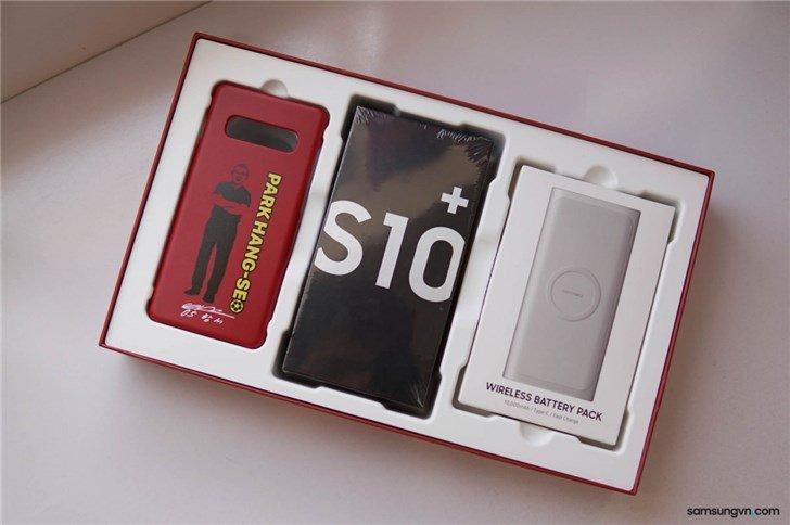 Смартфон Samsung Galaxy S10+ посвятили корейскому футболисту