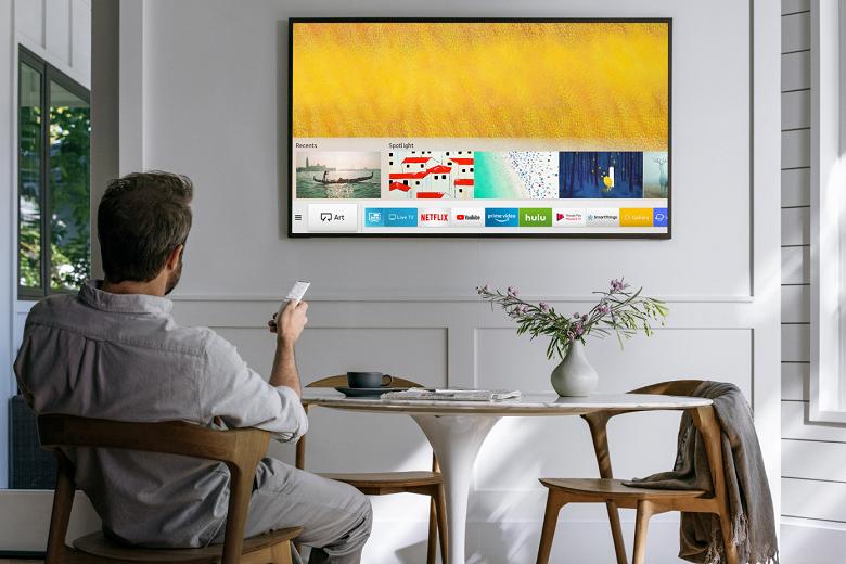 Объявлены цены на телевизоры-картины Samsung для России