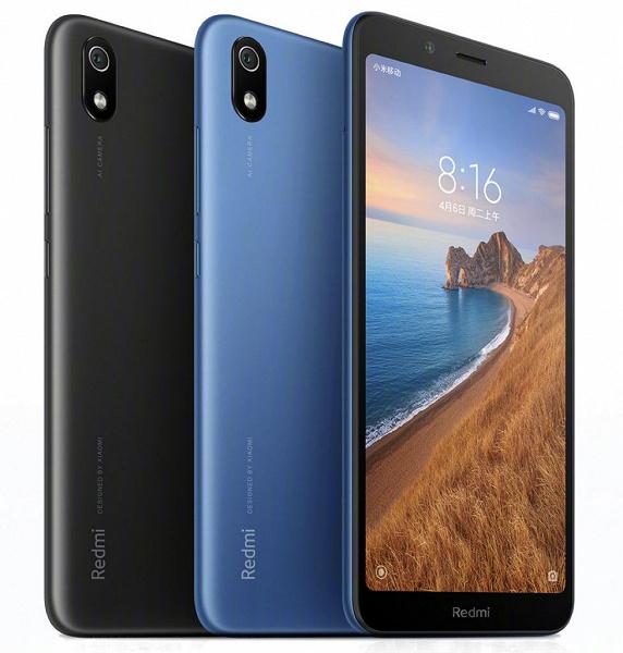 Индийская версия смартфона Redmi 7A возможно получит USB-C