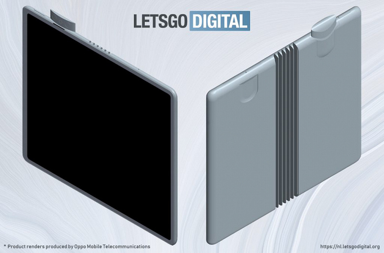 OPPO готовит складной смартфон с выдвижной камерой