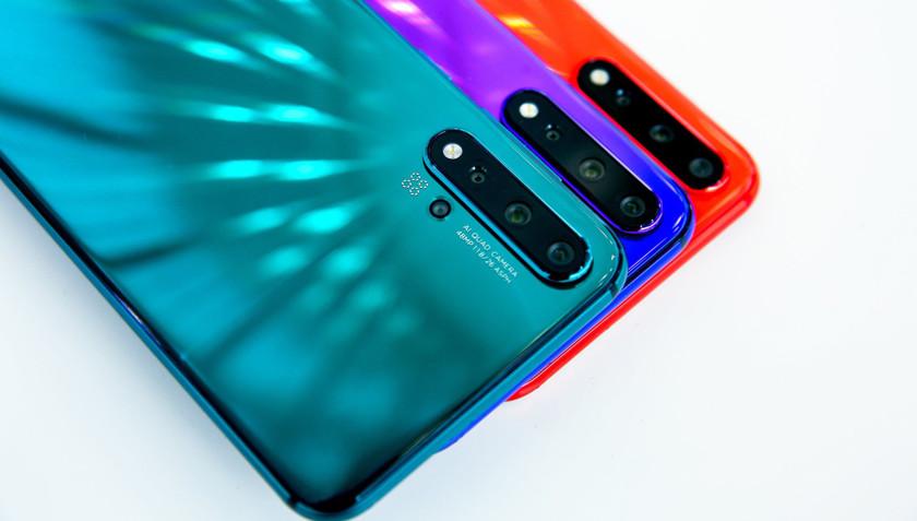 В продажу поступили смартфоны Huawei Nova 5i и Nova 5 Pro