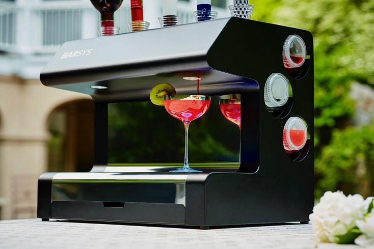 Barsys анонсировала нового домашнего робота-бармена за $1500