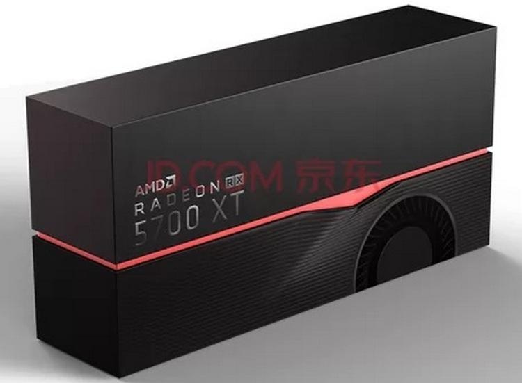 Видеокарты AMD Radeon RX 5700-й серии получили стильные упаковки