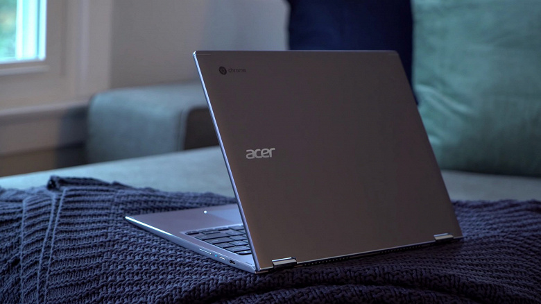 Acer начала продажи хромбука Chromebook Spin 13 с процессором Core i7