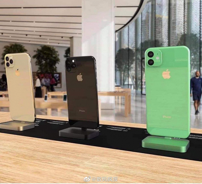 Раскрыты подробности о трех новых iPhone 2019 года