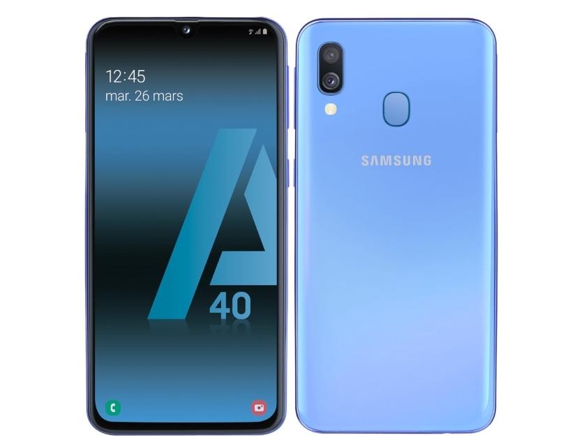 Samsung Galaxy A40 получил поддержку системы Samsung Pay