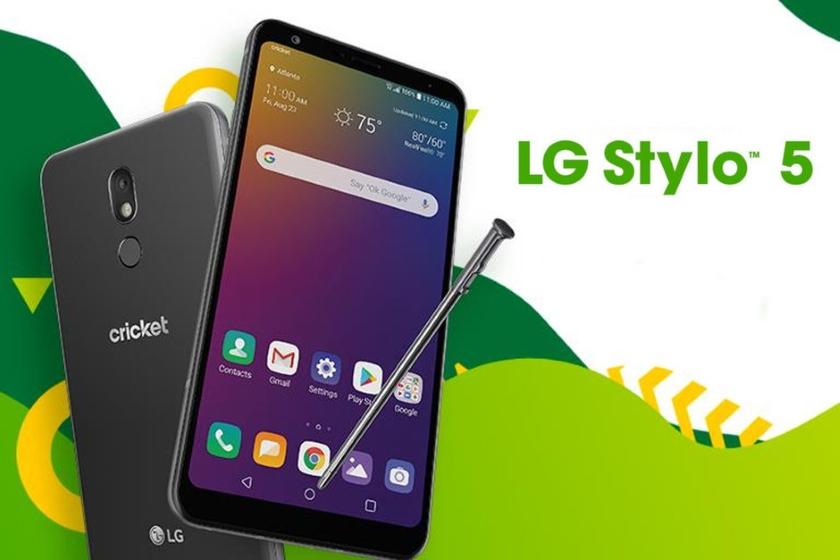 Смартфон со стилусом LG Stylo 5 стоит $230