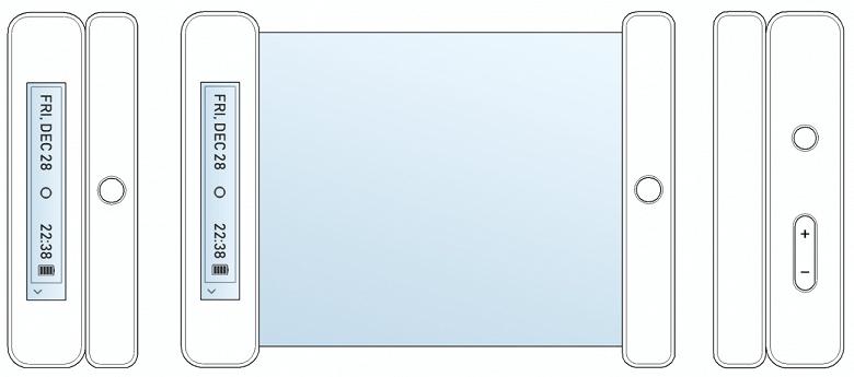 Компания LG запатентовала смартфон-рулон