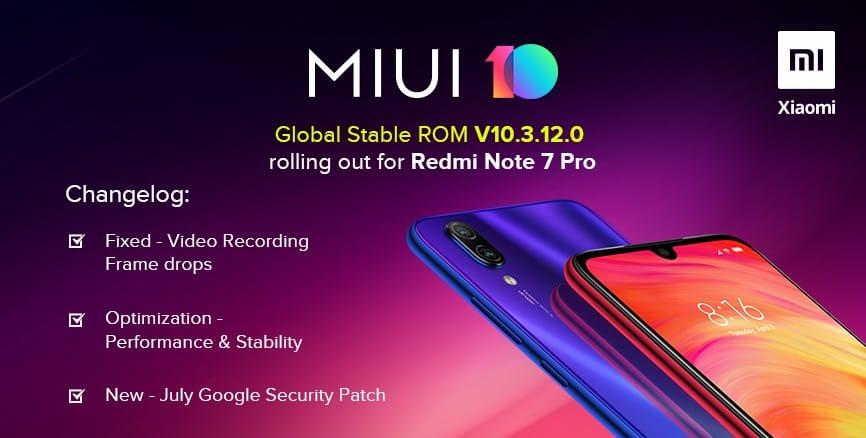 Xiaomi выпустила важное обновление для Redmi Note 7 Pro