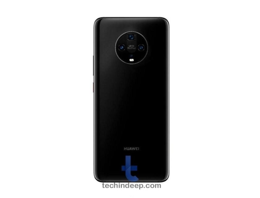 Huawei Mate 30 Pro с круглой основной камерой показали на рендерах